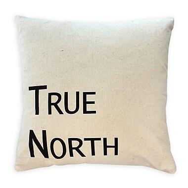 2-Piece Cushion Feather Insert, True North, Black, 6.75x18x18