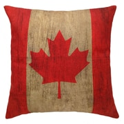 2-Piece Cushion Feather Insert, Canada Flag, 6.75x18x18