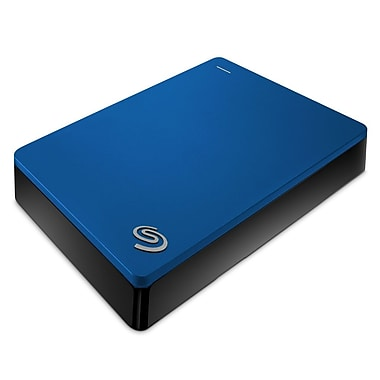 Seagate – Disque dur Backup Plus Portable STDR4000901, USB 3.0, 4 To, bleu