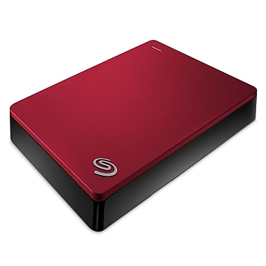 Seagate – Disque dur Backup Plus Portable STDR4000902, USB 3.0, 4 To, rouge