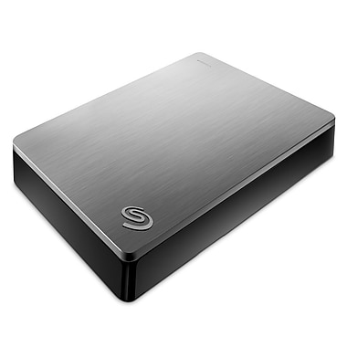 Seagate – Disque dur Backup Plus Portable STDR4000900, USB 3.0, 4 To, argent