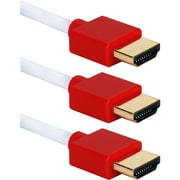 QVS HDMI Audio/Video Cable with Ethernet (HDT-3F-3PR)