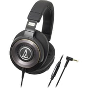 Audio-Technica Solid Bass Over-Ear Headphones with In-line Mic & Control (ATH-WS1100IS)