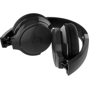 Audio-Technica ATH-AR3iS SonicFuel On-Ear Headphones with Mic & Control (ATH-AR3ISBK)