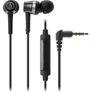 Audio-Technica ATH-CKR30iS SonicFuel In-Ear Headphones with In-line Mic & Control (ATH-CKR30ISBK)