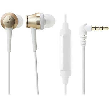 Audio-Technica ATH-CKR70iS Sound Reality In-Ear High-Resolution Headphones with Mic & Control (ATH-CKR70ISCG)