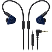 Audio-Technica ATH-LS50iS In-Ear Headphones with In-line Mic & Control (ATH-LS50ISNV)