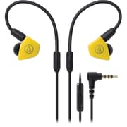 Audio-Technica ATH-LS50iS In-Ear Headphones with In-line Mic & Control (ATH-LS50ISYL)