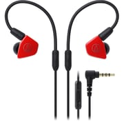 Audio-Technica ATH-LS50iS In-Ear Headphones with In-line Mic & Control (ATH-LS50ISRD)