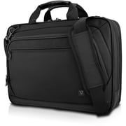 "V7 Cityline CTPD1-1N Carrying Case (Briefcase) for 15.6"" Notebook, Black"