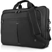 "V7 Urban CTPS1-1N Carrying Case (Briefcase) for 15.6"" Notebook, Tablet, iPad, iPad Air 3, iPad mini, ..., Black"