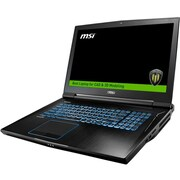 "MSI WT73VR 7RM-648US 17.3"" LCD Mobile Workstation, Intel Core i7 i7-7820HK Quad-core 2.90 GHz, 64 GB DDR4 SDRAM, 1 TB HDD"