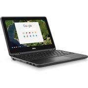 "Dell Chromebook 3180 11.6"" LCD Chromebook, Intel Celeron N3060 Dual-core 1.6GHz, 4GB, 16GB Flash Memory, Chrome OS, 1366x768"
