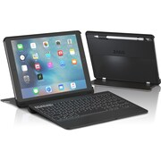 "ZAGG Slim Book Keyboard/Cover Case (Book Fold) for 9.7"" iPad Pro, Black"