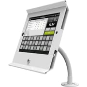 iPad Air/Air2 Secure Slide POS with Flex Arm Kiosk White