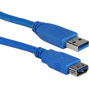 QVS 10ft USB 3.0/3.1 5Gbps Type A Male to Female Extension Cable