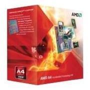 AMD A4-5300 Dual-core (2 Core) 3.40 GHz Processor, Socket FM2Retail Pack