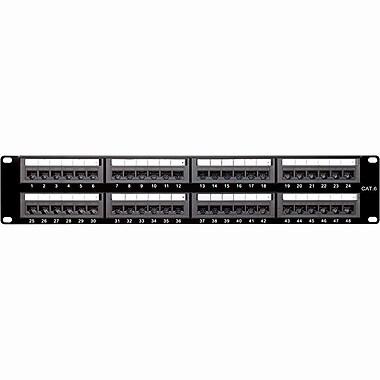 4XEM 48 Port CAT6 Rackmount Patch Panel (4XRMC6PP48)