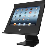 iPad Mini/Mini 2/ Mini 3 Secure Slide POS with Rotating 360? Kiosk Black
