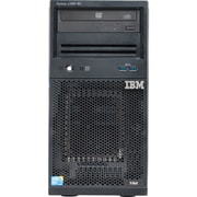 Lenovo System x x3100 M5 5457EBU Tower Server, 1 x Intel Xeon E3-1220 v3 Quad-core (4 Core) 3.10 GHz, 16 GB Installed DDR3 SDRAM