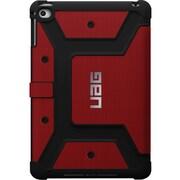 Urban Armor Gear Carrying Case (Folio) for iPad mini 4, iPad mini, Red, Black, Magma