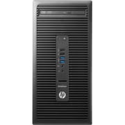 HP EliteDesk 705 G2 Desktop Computer, AMD A-Series A10-9700 3.50GHz, 8GB DDR4 SDRAM, 1 TB HDD, Windows 10 Pro 64bit, Micro Tower
