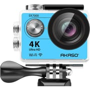 AKASO EK7000 4K WIFI Action Camera Ultra HD Waterproof Camcorder 12MP in Blue