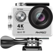 AKASO EK7000 4K WIFI Action Camera Ultra HD Waterproof Camcorder 12MP in Silver