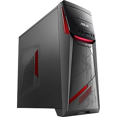 Asus G11CD-DS71-GTX1050 VR Ready Desktop Computer, Intel Core i7-7700 3.60GHz, 8GB DDR4 SDRAM, 1TB HDD, Windows 10 64bit, Tower