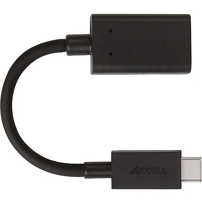 Image of Accell USB-C to A USB 3.0 Adapter (U198B-001B)
