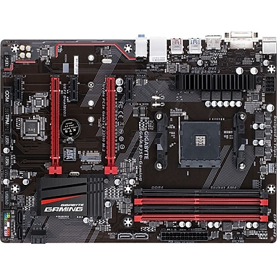 Gigabyte Ultra Durable GA-AB350-Gaming Desktop Motherboard, AMD B350 Chipset, Socket AM4