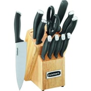 Cuisinart 12 Piece Cutlery Set with Block (C77SSB-12P)