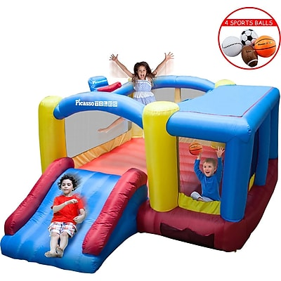 PicassoTiles 12x10 Foot Inflatable Bouncer Jumping Bouncing