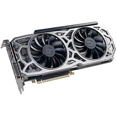 EVGA GeForce GTX 1080 Ti Graphic Card, 1.56 GHz Core, 1.67 GHz Boost Clock, 11 GB GDDR5X, PCI Express 3.0 x16 (11G-P4-6593-KR)