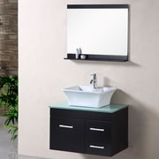 Brayden Studio Newcastle 30'' Single Bathroom Vanity Set w/ Mirror