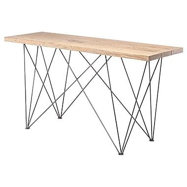 Brayden Studio Iolanta Console Table; Raw Oak