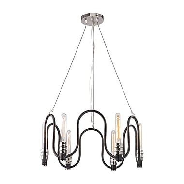 Brayden Studio Sims 6-Light Candle-Style Chandelier