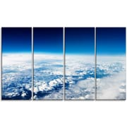 DesignArt 'Stunning View from Airplane' Photographic Print Multi-Piece Image on Canvas