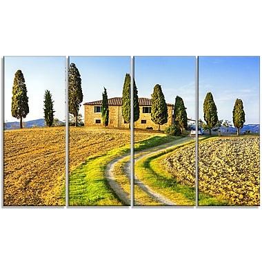 DesignArt 'Tuscany Scenery Italy' Photographic Print Multi-Piece Image on Canvas