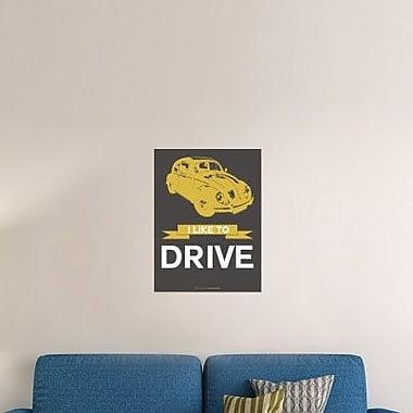 Naxart 'I Like to Drive Beetle 1' Graphic Art Print on Canvas; 24'' H x 18'' W x 1.5'' D