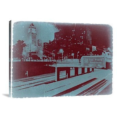 Naxart 'Downtown LA' Graphic Art Print on Canvas; 12'' H x 16'' W x 1.5'' D