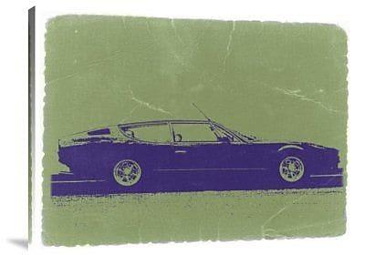 Naxart 'Lamborghini Espada' Graphic Art Print on Canvas; 30'' H x 40'' W x 1.5'' D