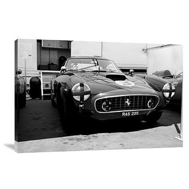 Naxart 'Ferrari in the Pit' Photographic Print on Canvas; 16'' H x 24'' W x 1.5'' D