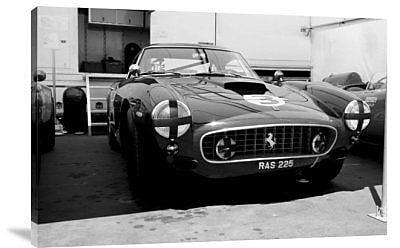 Naxart 'Ferrari in the Pit' Photographic Print on Canvas; 12'' H x 18'' W x 1.5'' D