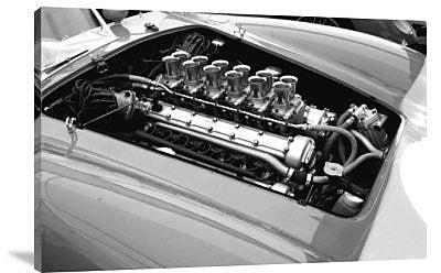 Naxart 'Ferrari Engine' Photographic Print on Canvas; 20'' H x 30'' W x 1.5'' D