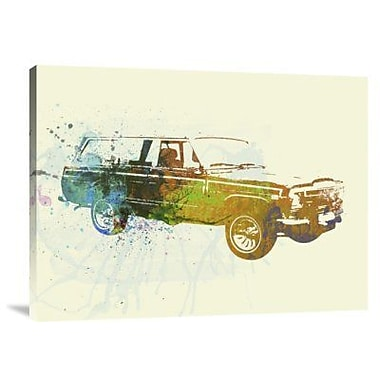 Naxart 'Jeep Wagoneer' Graphic Art Print on Canvas; 12'' H x 16'' W x 1.5'' D