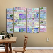 Brayden Studio Abstract I 4 Piece Painting Print on Wrapped Canvas Set; 36'' H x 54'' W x 2'' D