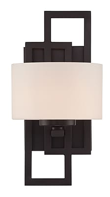 Brayden Studio Surabaya 2-Light Wall Sconce