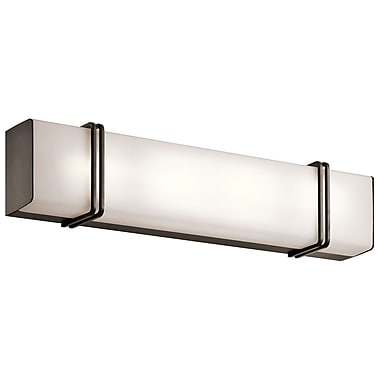 Brayden Studio Engebretson 1-Light Bath Bar; Olde Bronze