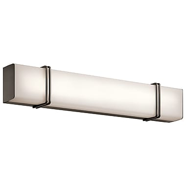 Brayden Studio Bluford 1-Light Bath Bar; Olde Bronze